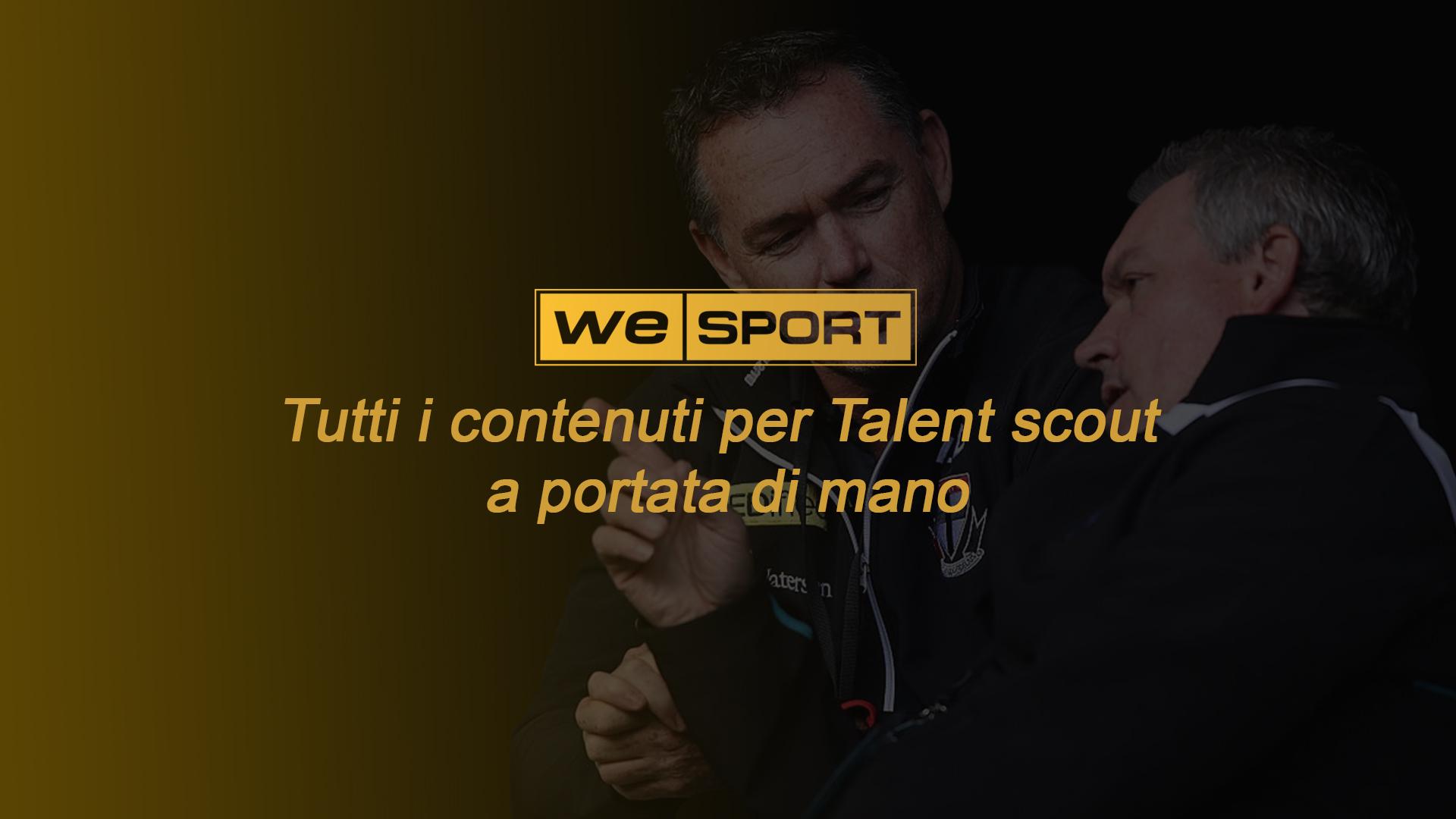 servizi per talent scout We Sport