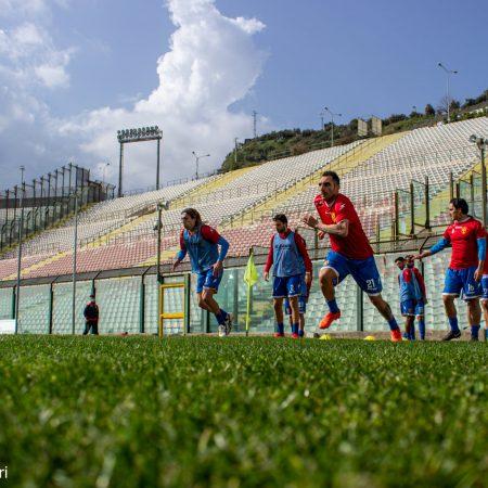 Riscaldamento FC Messina
