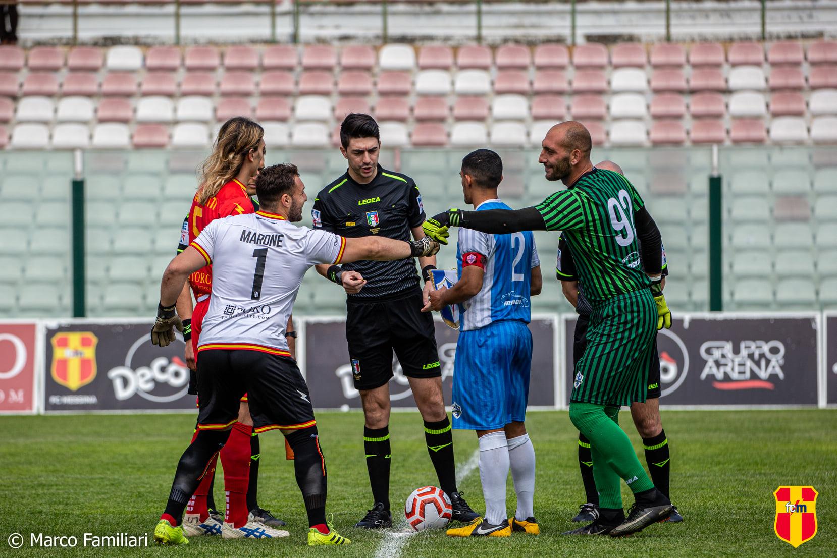 La capolista ACR Messina chiama, FC Messina e Gelbison rispondono.
