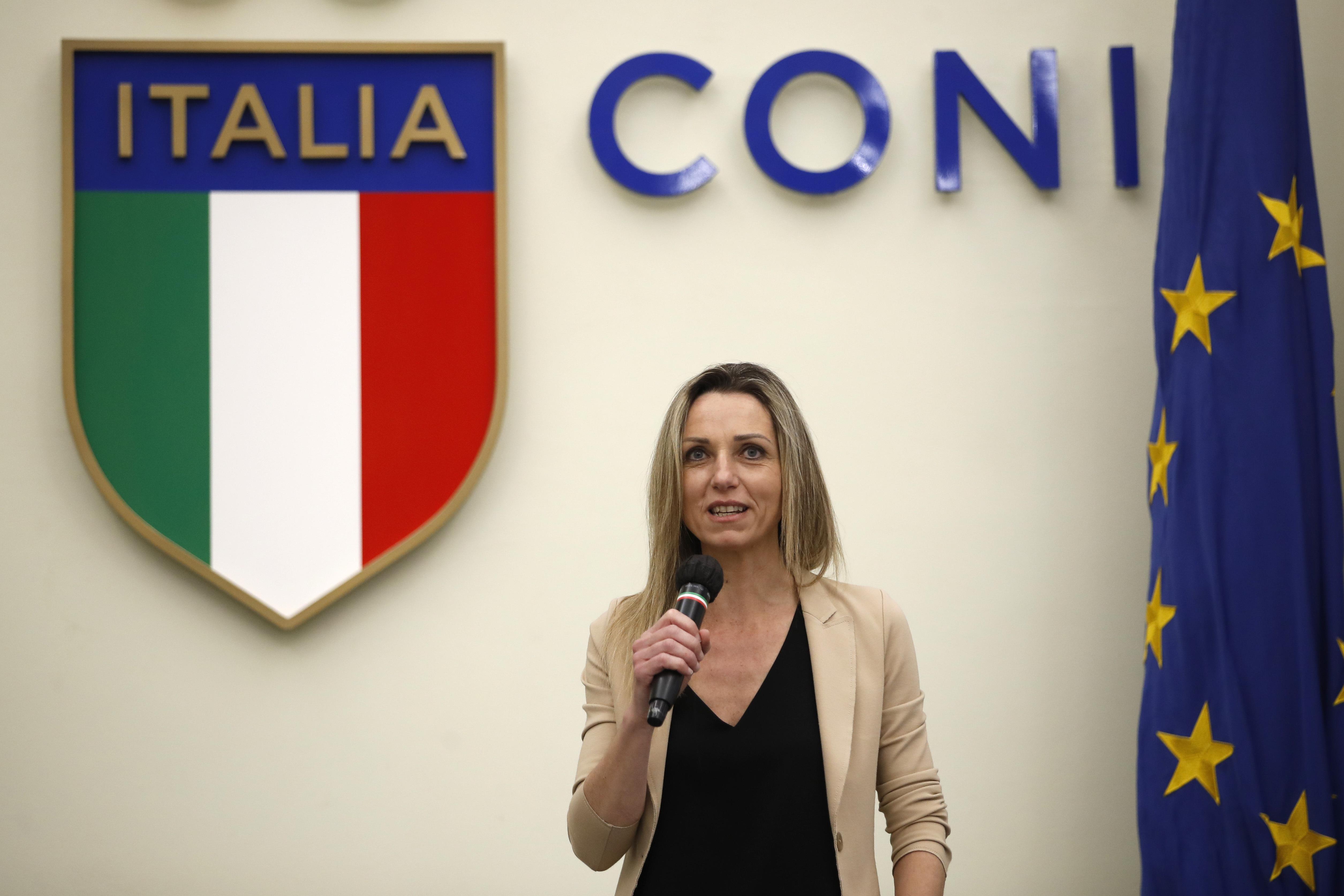 """Valentina Vezzali: """"Riapertura stadi è la priorità ma serve cautela"""""""