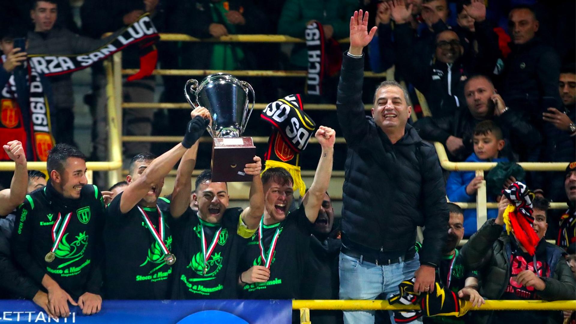 """Serie D, Giampaolo: """"Giocare con il pubblico é un'altra storia. Il San Luca vuole la Serie C"""""""