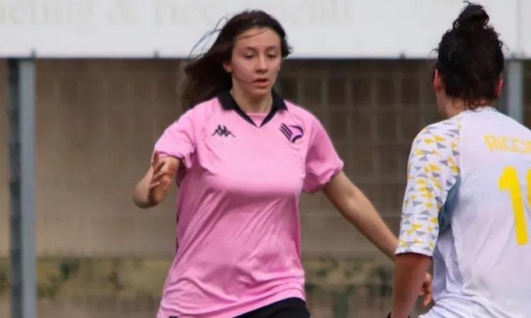 Palermo femminile: in rete la classe 2006 Sandra Palermo contro il Formello