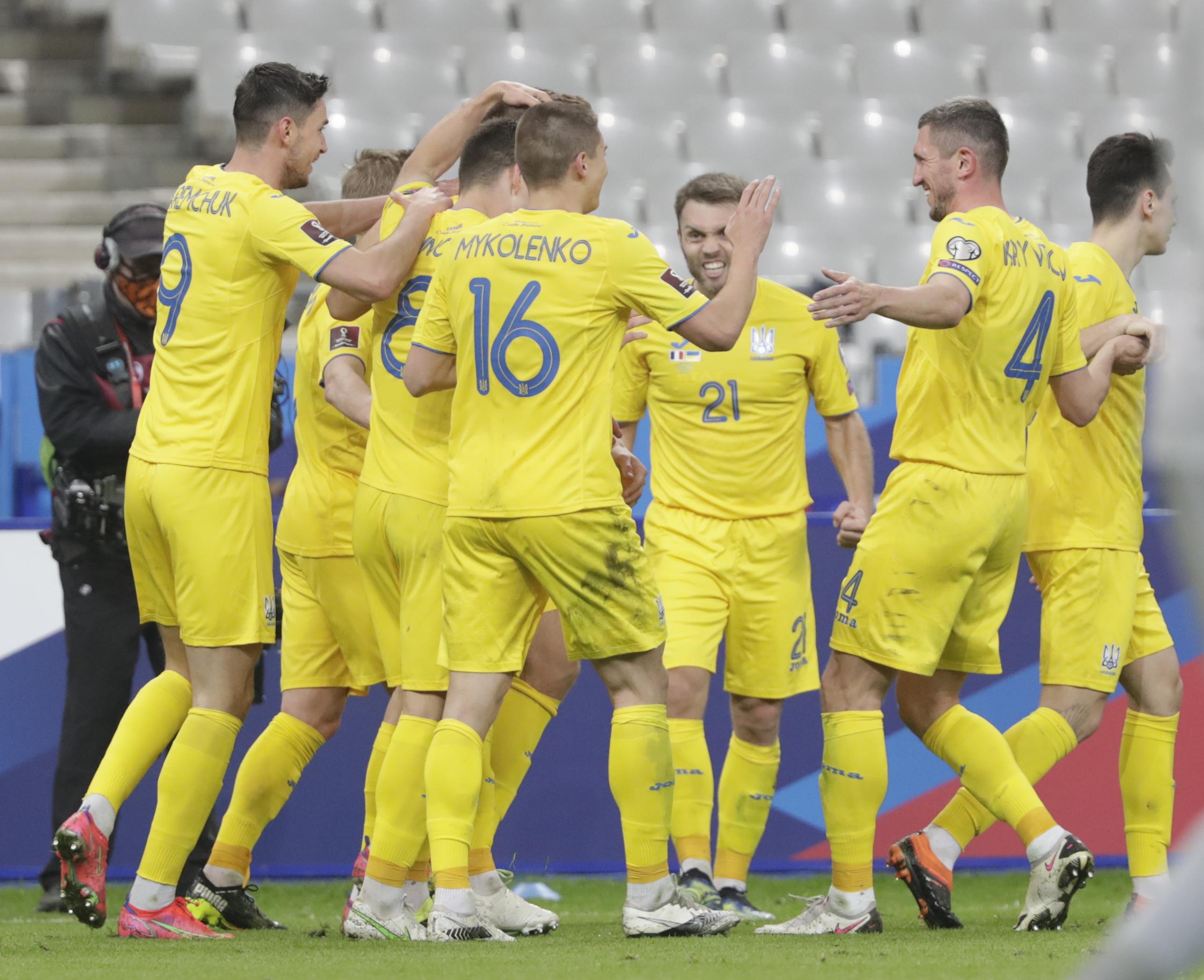 Euro2020: la Uefa impone all'Ucraina di cambiare maglia