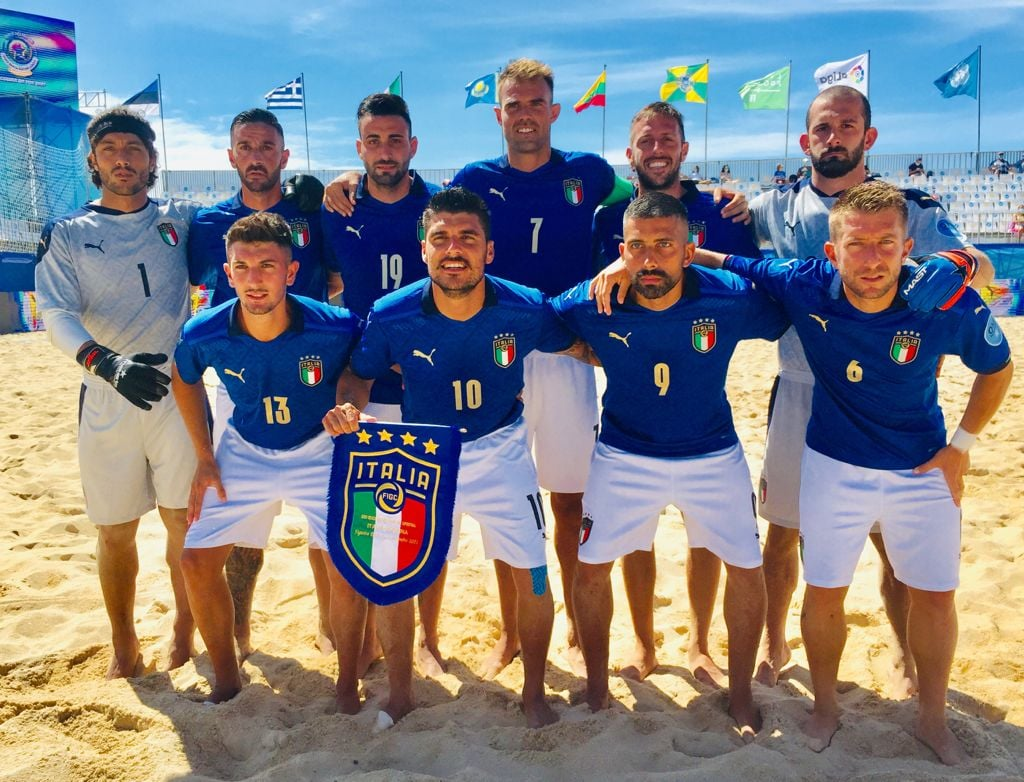 Europei Beach Soccer: bronzo per l'Italia del messinese Seba Paterniti